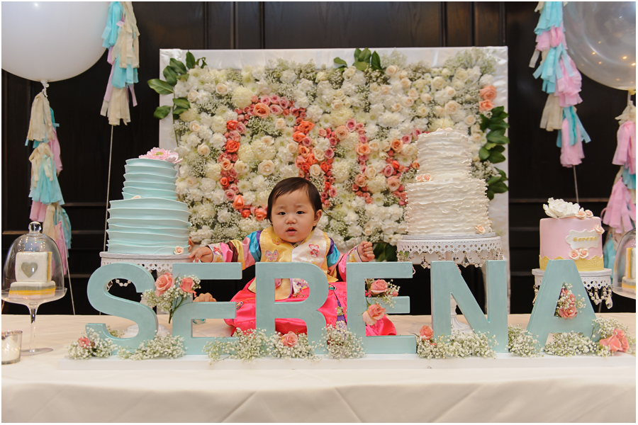 Serena Korean First Birthday New Jersey
