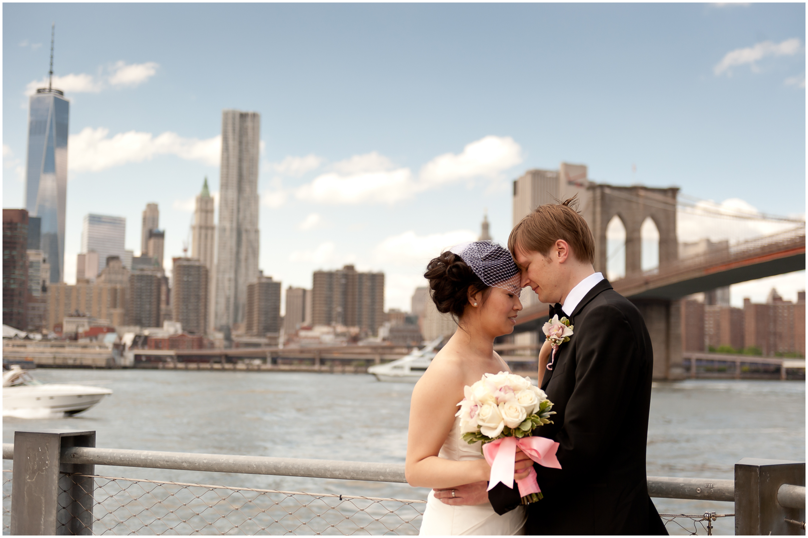 Wedding Photography At Brooklyn Bridge Park New York City Taken By Benson Lau 15
